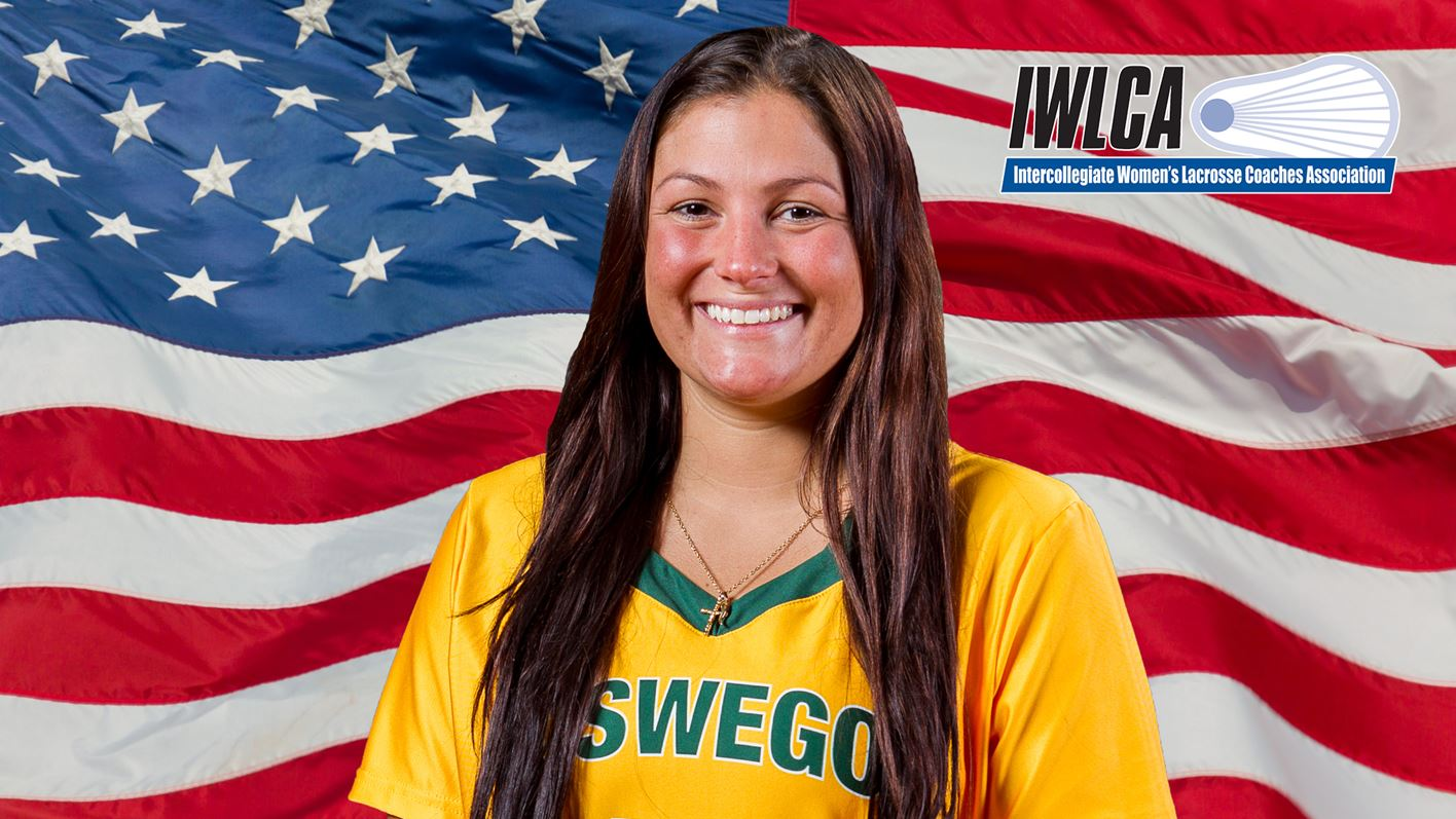 Shattuck Recognized as an All-American by IWLCA - Oswego